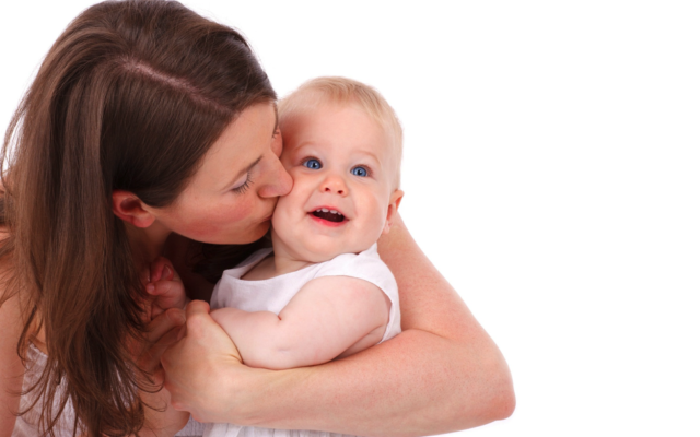 Mom with Baby. Courtesy of Pixabay