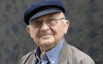 Aharon Appelfeld, seen in a 2010 photo in France, wrote fiction about the Holocaust but rejected the label of Holocaust writer. (Ulf Andersen/Getty Images)