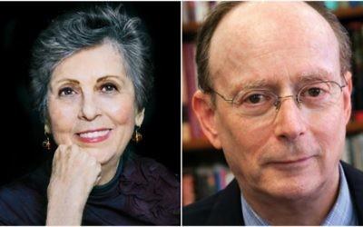 Francine Klagsbrun and Gary Rosenblatt