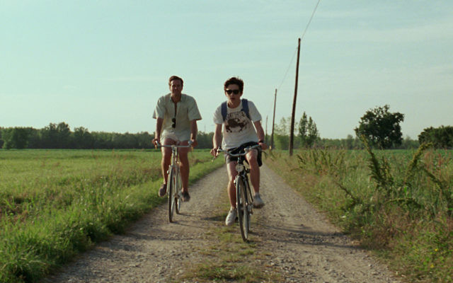 """Armie Hammer, left, and Timothee Chalamet play two young men who grapple with their attraction to each other in the film """"Call Me By Your Name."""" (Courtesy of Sony Pictures Classics)"""