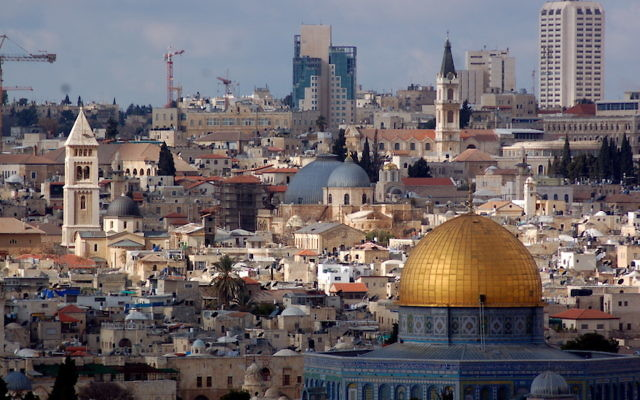 Jerusalem seen from the Mount of Olives. (Flickr Commons/Dan)