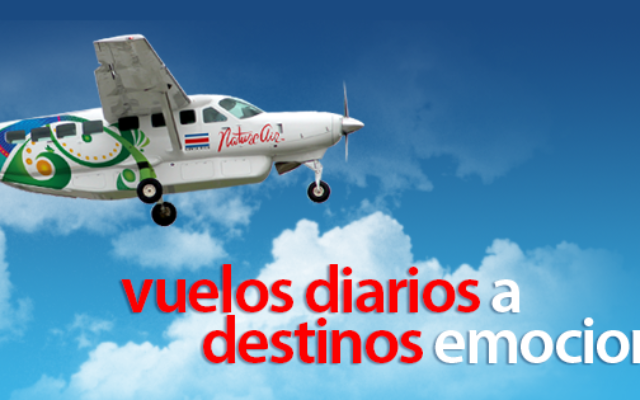 Nature Air Costa Rica were chartering the flight that crashed. Facebook/Nature Air