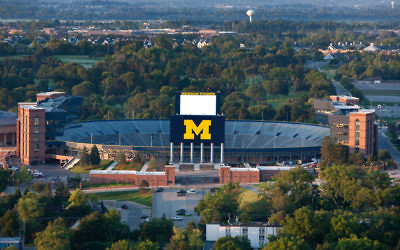 The University of Michigan is home to one of the largest Jewish student bodies of any U.S. university. Wikimedia Commons