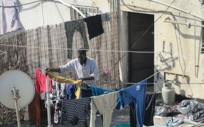 Most Israel-based African asylum-seekers live in South Tel Aviv in squalid conditions. Michele Chabin/JW