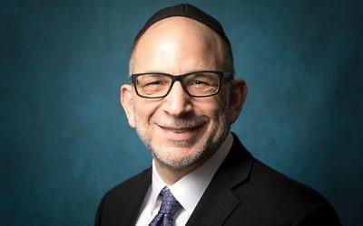 "Rabbi Ronald Schwarzberg: ""We have a lot of work to do on benefits."" YESHIVA UNIVERSITY"