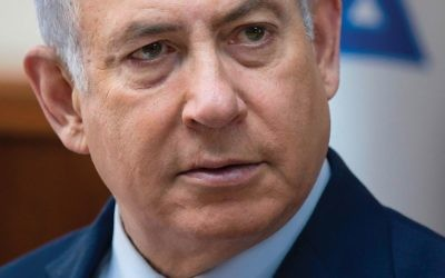 Netanyahu was hospitalized with a high fever. Getty Images