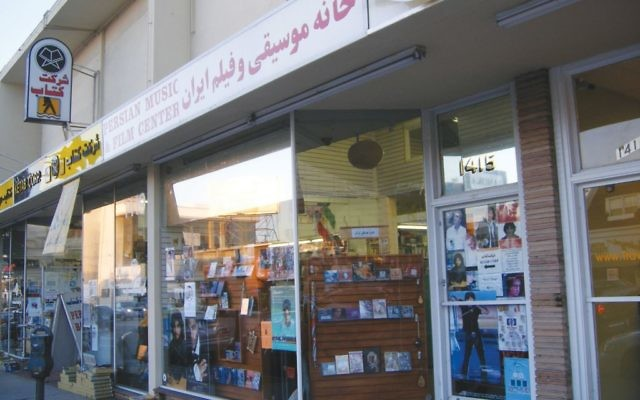 "A Persian store reflects the Iranian influence in ""Tehrangeles,"""