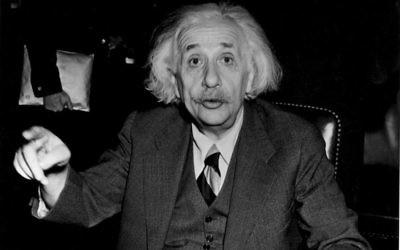 Albert Einstein, circa 1946. (JTA)