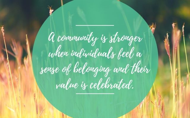 Community. Courtesy of Lisa Friedman