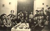 Rivoli, Algeria, Passover feast, 1947. Photo: Yad Vashem