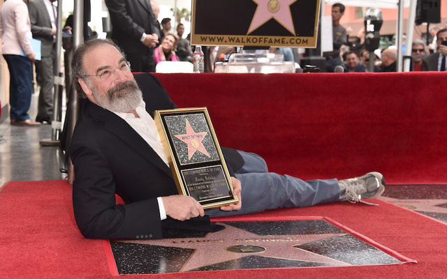 Mandy Patinkin at a ceremony honoring him with the 2,629th star on the Hollywood Walk of Fame in Hollywood, Calif., Feb. 12, 2018. (Alberto E. Rodriguez/Getty Images)