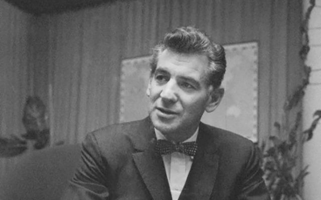 Leonard Bernstein in 1959. Wikimedia Commons