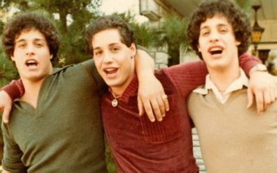 David Kellman, Eddy Galland and Bobby Shafran appear in 'Three Identical Strangers' by Tim Wardle, an official selection of the US Documentary Competition at the 2018 Sundance Film Festival. Courtesy of Sundance Institute via Times Of Israel