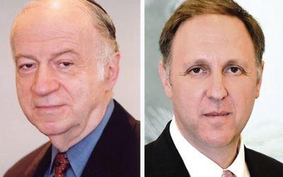 Julius Berman President left, and Greg Schneider Executive Vice President