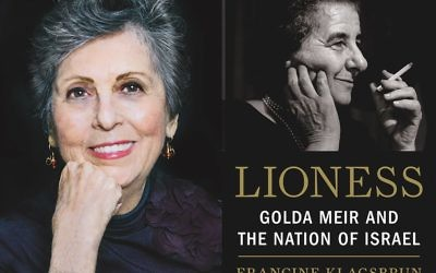 "Francine Klagsbrun's ""Lioness"" won book of the year from the National Jewish Book Council."