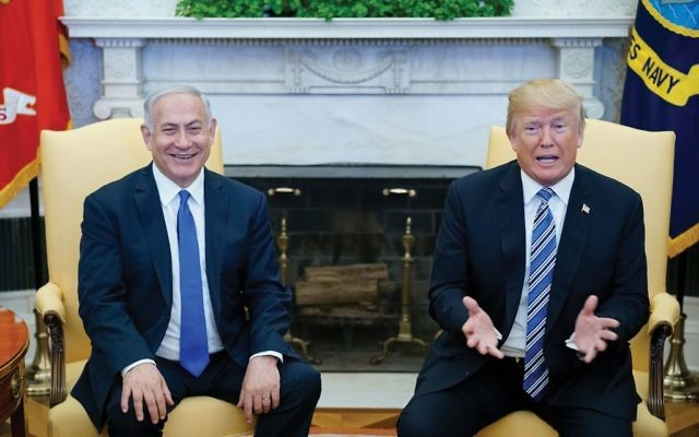 Israeli Prime Minister Benjamin Netanyahu met with President Trump in March at the White House to discuss Iran. Getty Images
