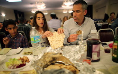 Passover Seder. Courtesy of Joe Raedle/Getty Images