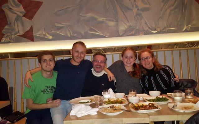 The author's family. Courtesy of Nina Moglinik