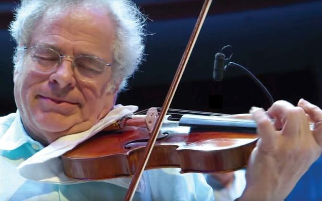 """From struggle and to the sublime: Scene from """"Itzhak."""" YouTube"""