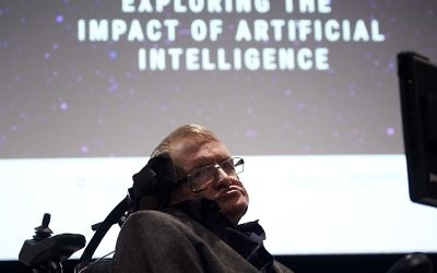 Stephen Hawking. Courtesy of Getty Images