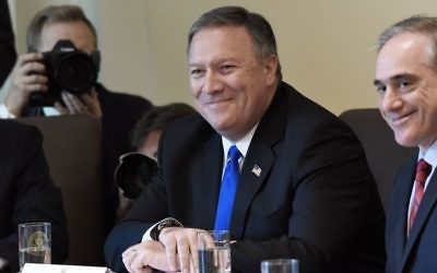 Then CIA Director Mike Pompeo attends a meeting in the Cabinet Room of the White House June 12, 2017 in Washington, DC. He has now been nominated the new secretary of state, replacing Rex Tillerson. Getty Images