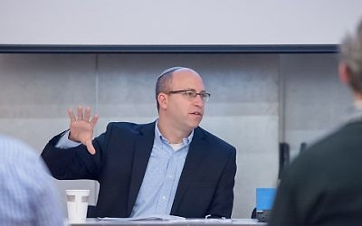 Yehuda Kurtzer (Courtesy Shalom Hartman Institute of North America)