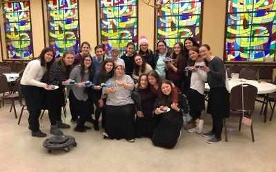 Yachad members and peers at an event. Courtesy of Yachad Chicago.