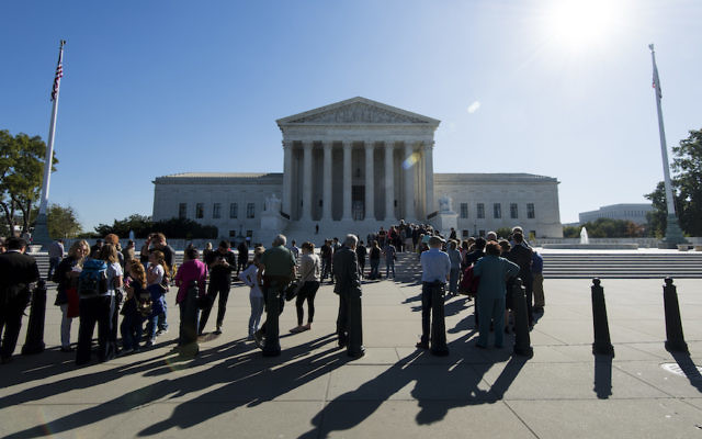 The Supreme Court will say by March 29 whether it will consider the appeal by the litigants in the case, known as Sokolow v. Palestine Liberation Organization. (Bill Clark/CQ Roll Call/Getty Images)