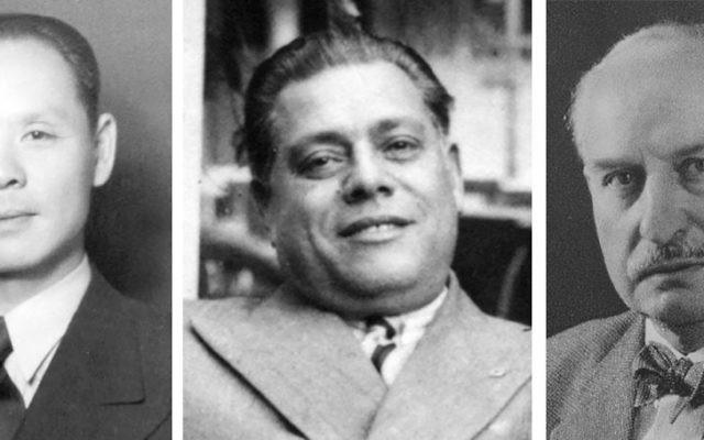 Feng-Shan Ho, Arturo Castellanos and Ernst Leitz: Their morally audacious schemes spared tens of thousands of Jewish lives during the Holocaust. Manli Ho/Frieda Castellanos de Garcia/Rabbi Frank Dabba Smith