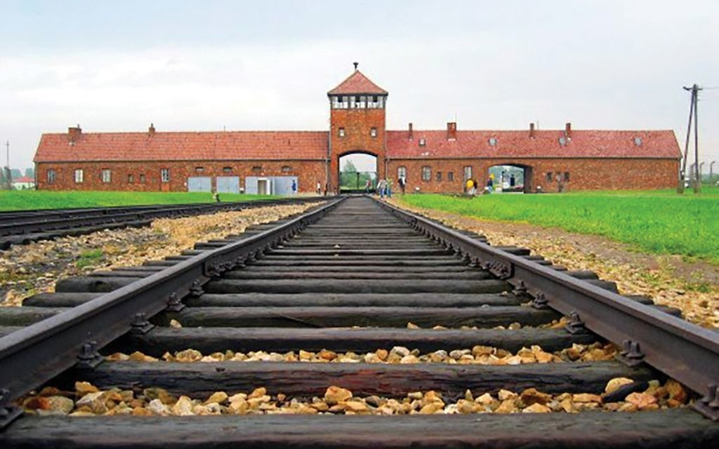 The Auschwitz-Birkenau camp, which was located in Nazi-occupied Poland. Only 37 percent of Americans identified the country as one in which the Holocaust took place. Wikimedia Commons