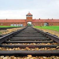 The Auschwitz-Birkenau camp, which was located in Nazi-occupied Poland. Wikimedia Commons