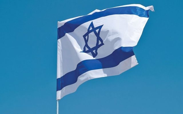 Chromatic symbolism: The blue color in the Israeli flag has biblical roots. Below, the blue/purple dye from the murex snail. Getty Images/ Rationalistjudaism.com