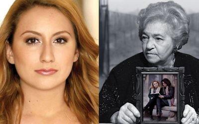 "Filmmaker Serena Dykman tracks the Shoah journey of her grandmother, Maryla Michalowski-Dyamant, in ""Nana.""  Serenadykman.com  Nanafilm.com"