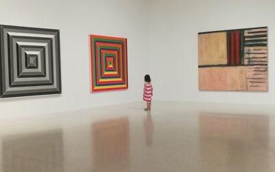 The Frank Stella show at the NSU Museum of Art. Hilary Danailova/JW