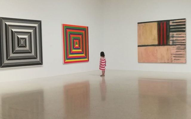 The Frank Stella show at the NSU Museum of Art. Hilary Danailova/JW