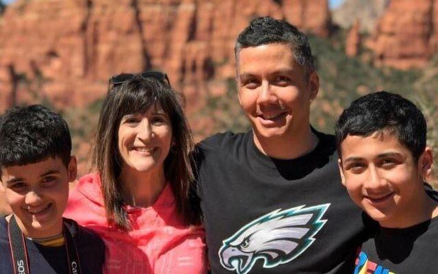 The author's family. Courtesy of Jodi Holper Singer