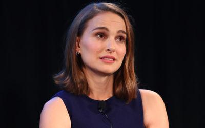 Natalie Portman speaking at the Vulture Festival LA in Hollywood, Calif., Nov. 19, 2017. Getty Images