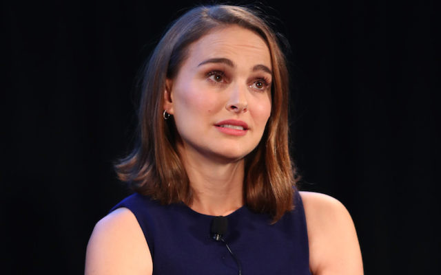 Natalie Portman speaking at the Vulture Festival LA in Hollywood, Calif., Nov. 19, 2017. Getty Images