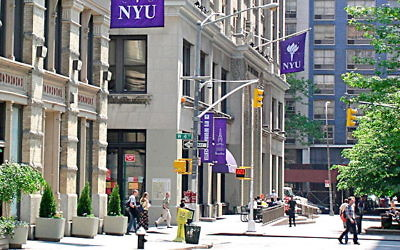 NYU Campus. Wikimedia Commons