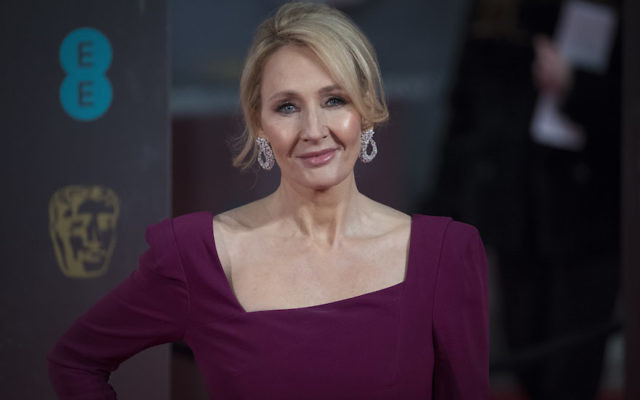 J.K. Rowling attends the 70th British Academy Film Awards (BAFTA) at Royal Albert Hall in London, Feb. 12, 2017. (John Phillips/Getty Images)