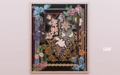 Miriam Schapiro, Gates of Paradise, 1980 © 2018 Estate of Miriam Schapiro / Artists Rights Society (ARS), New York Courtesy Eric Firestone Gallery