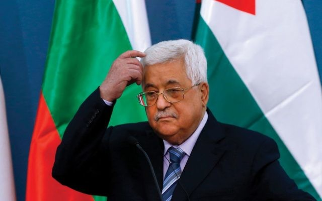PA President Mahmoud Abbas: New questions about future of his reign.  Getty Images