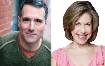 "Jackie Hoffman to play Yente and Steven Skybell takes on Tevye in the upcoming Yiddish ""Fiddler on the Roof."" Photos courtesy of the Folksbiene"