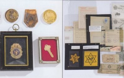 Artifacts of the late Moses Kove,  will ho on  auction on Monday. Many of the items date from his days as a prosecutor at the Nuremberg Trials.