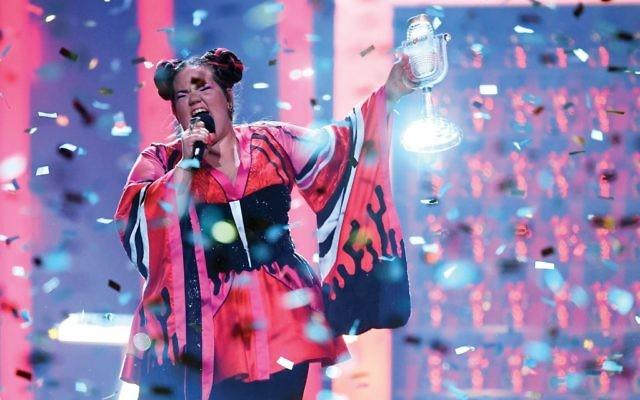 Eurovision winner Netta Barzilai.