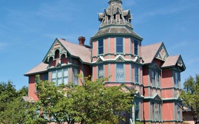 The Ann Starrett Mansion, one of the Victorian landmarks in Port Townsend. Flickr