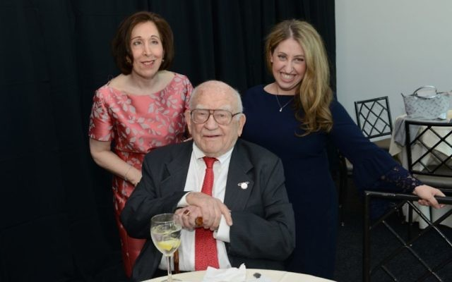 Matan honored Liane Carter, Pamela Schuller and Ed Asner. Courtesy of Matan