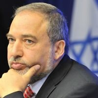 Avigdor Liberman resigned as defense minister of Israel today. Getty Images.