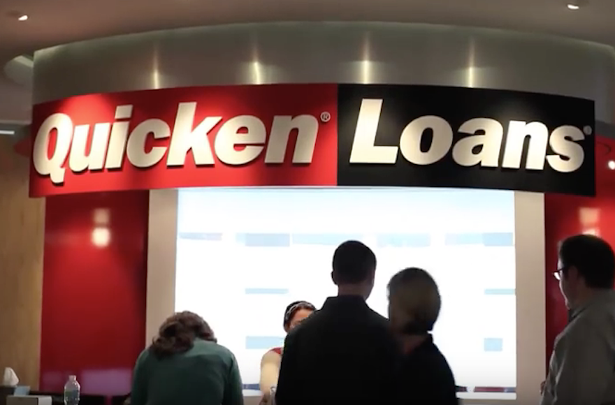 Some rabbis say it isnt kosher to borrow from quicken loans quicken loans claims to be americas largest mortgage lender screenshot from youtube malvernweather Gallery