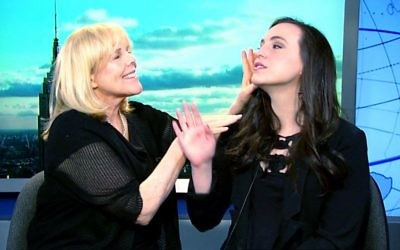 Kate Siegel and her mom, Kim Friedman, AKA Crazy Jewish Mom. Screenshot/Youtube